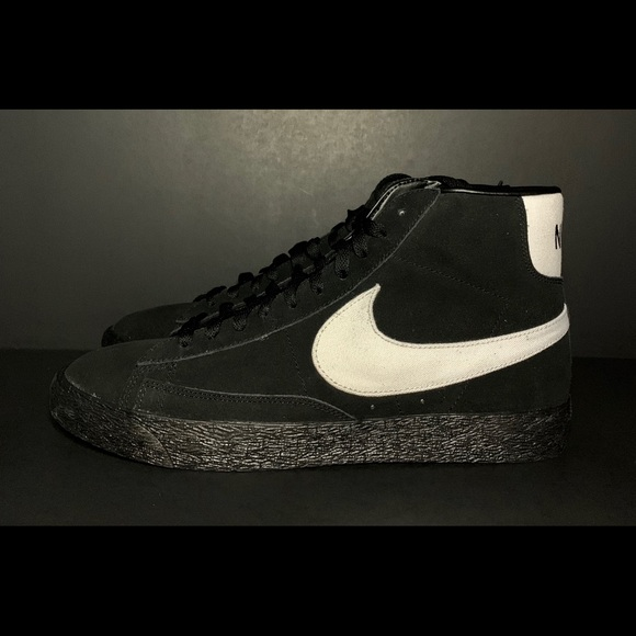 meet 05122 52f11 Nike Blazer High Black NWT